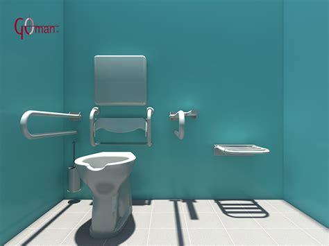 bagno handicappati dwg progettazione dwg bagni disabili disegni in 3d