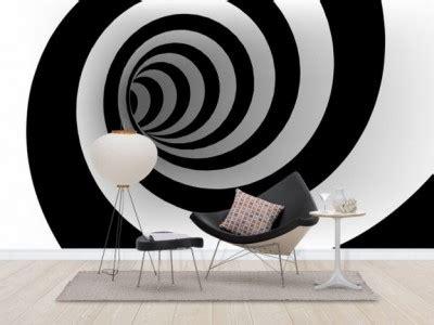 Spiral Kawat F4 316 Putih 2 lukisan dinding tak seperti memliki terowongan spiral hitam dan putih referensi rumah