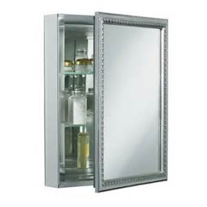 kohler cb clw2026ss 20 quot mirrored cabinet with decorative