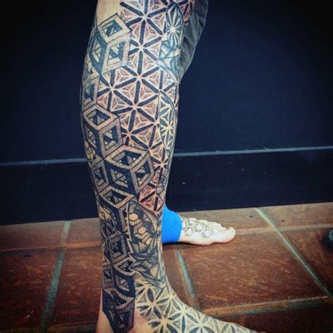 geometric tattoos for men all black sacred geometry tattoos for guys on legs