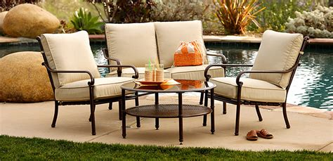 patio furniture material choosing the right patio furniture material groomed home