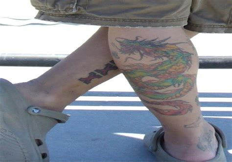 dragon leg tattoos for men tattoos for ideas designs find your