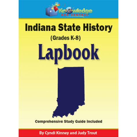 Indiana State Mba Cost by Indiana State History Lapbook Printed Educents