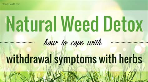 Cannabis Detox Symptoms by How To Deal With Withdrawal From Lamoureph