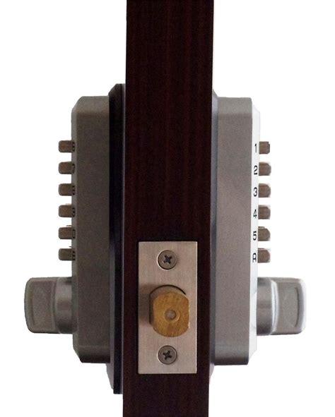gate house lock keyless gate lock lockey m210dc mg deadbolt double sided
