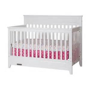 White Convertible Crib Logan 4 In 1 Convertible Crib Matte White Target