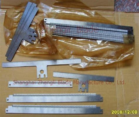 cutting blade material 2575 cutting blade serrated cutter cutting tooth shear