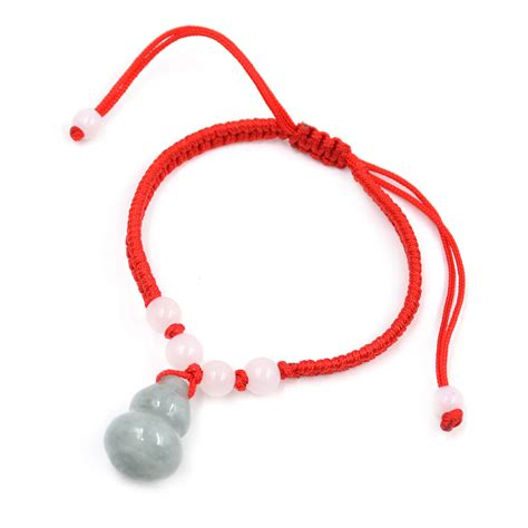 Three String Knot - lucky jade string knot bracelet feng