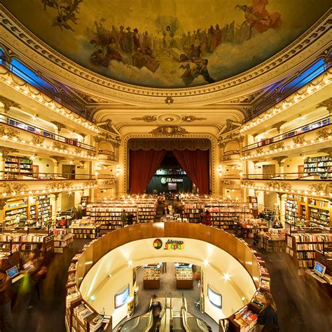 Libreria Ateneo Palermo - top bookstores in buenos aires travel leisure