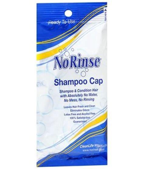 comfort rinse free shoo cap no rinse shoo cap golden years at home