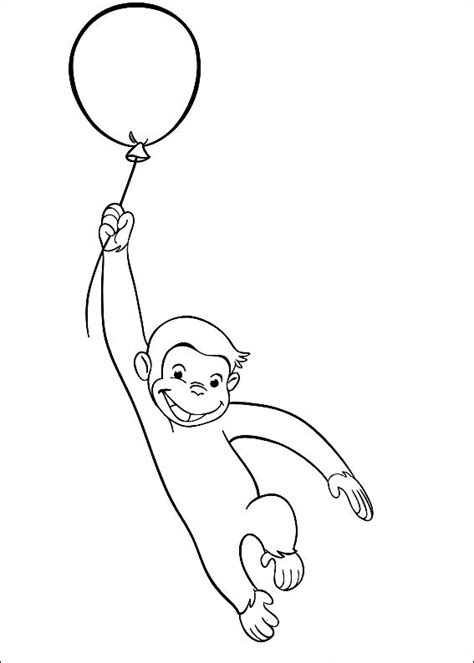 merry christmas curious george coloring pages curious george coloring pages