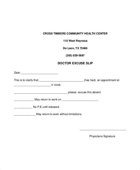 office note template 14 doctor note templates free premium templates