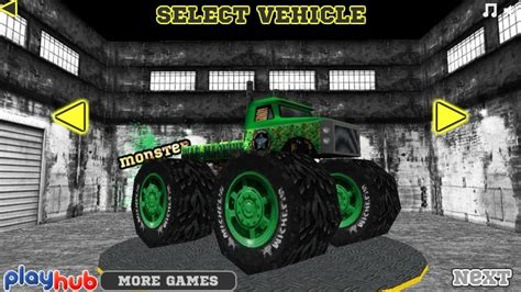 3d monster truck racing games online monster race 3d funny car games