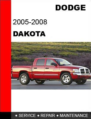 2006 dodge dakota manual down load 2005 2006 2007 2008 dodge dakota service repair manual cd