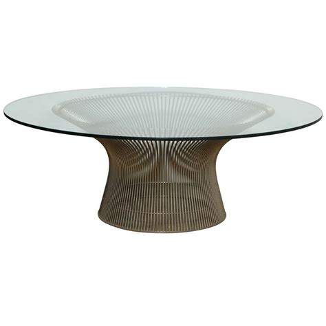 Warren Platner for Knoll Coffee Table at 1stdibs