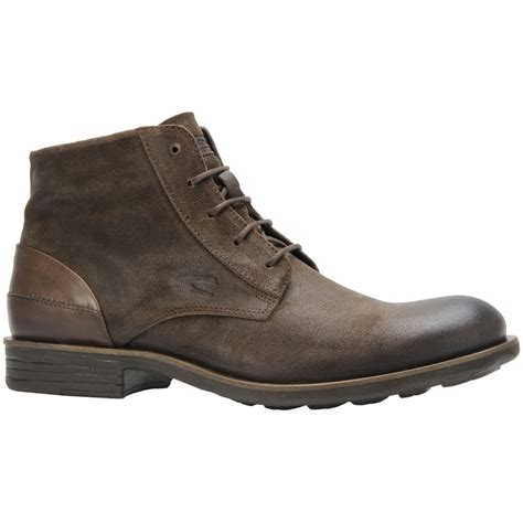 camel boots mens camel active gable mens casual suede boots