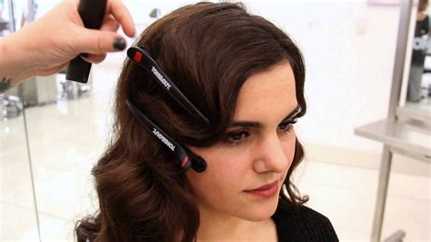 short 20s style curl 1920s inspired faux bob updo hairstyle tutorial youtube