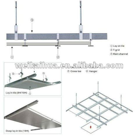 Ceiling Components Suspended Ceiling Channel System China Mainland Ceiling
