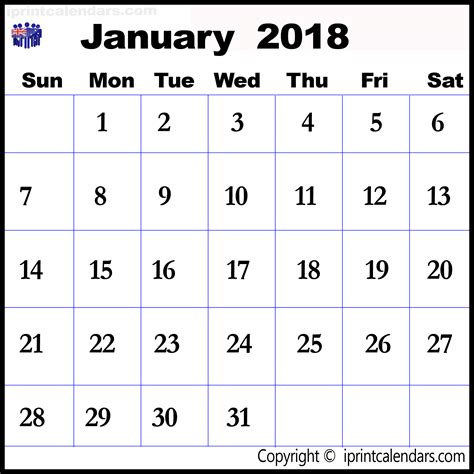 Calendar For January 2018 January 2018 Calendar Australia Templates Tools