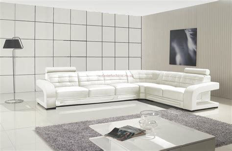 20 best collection of white leather corner sofa sofa ideas