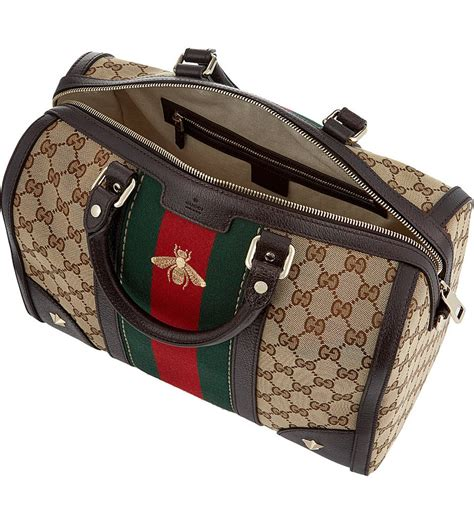 News Web Up Ebelle5 Handbags Purses by Shop Authentic Gucci Vintage Web Embroidered Bag At Re