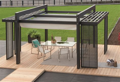 laria modern italian wooden pergola pools outdoor