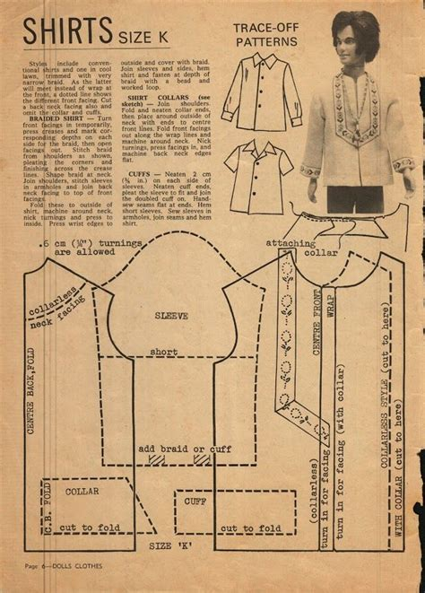 clothes pattern for ken doll 17 best images about ken and allen doll and clothes