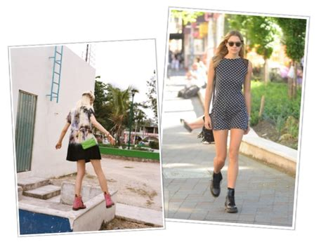 Trend: How to wear Dr Martens during Summer Dentelle FleursDentelle Fleurs