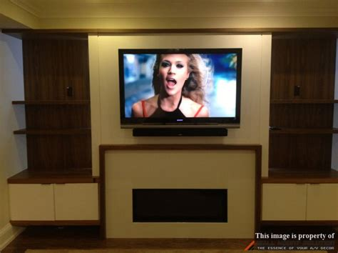 sound bar on top or below tv 1000 images about sound bar installation ideas on