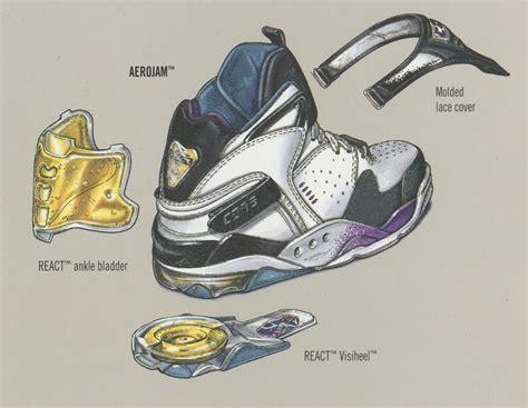 larry johnson basketball shoes converse aerojam retro sole collector