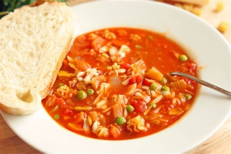 Soups On Minestrone Soup by Kid Friendly Minestrone Soup