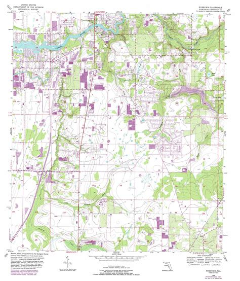 riverview florida map riverview topographic map fl usgs topo 27082g3