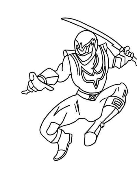 coloring pages of power rangers wild force samurai bunny colouring pages
