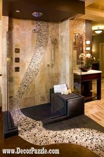 shower tile ideas designs tiling travertine stone bathroom design interior
