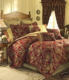gold imperial comforter set croscill imperial empress 4 pc king comforter set red gold
