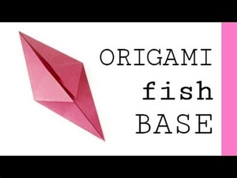Origami Fish Base - 16 best bases do origami images on origami