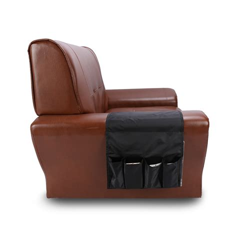 armchair caddy storage multifunctional 4 pocket remote control holder organizer