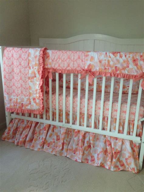 17 Best Images About Peach And Gold Nursery On Pinterest Complete Nursery Bedding Sets