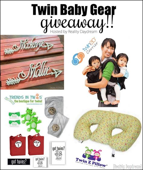 Baby Gear Giveaways - the ultimate twin baby gear giveaway reality daydream