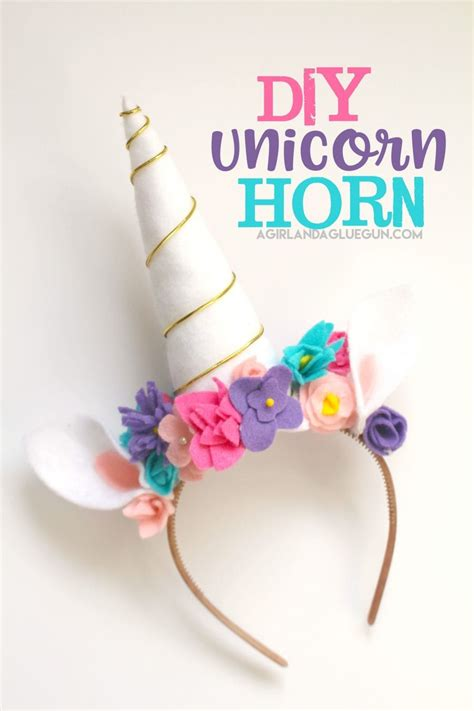 diy unicorn unicorn costume diy a and a glue gun