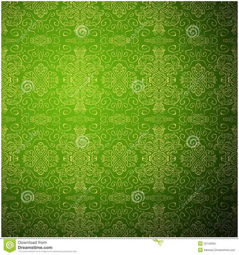 green pattern website antique pattern background green seamless royalty free