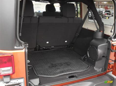 Jeep Wrangler Unlimited Trunk 2011 Jeep Wrangler Unlimited Rubicon 4x4 Trunk Photo