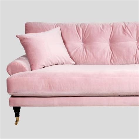 pale pink velvet sofa 25 best ideas about pink sofa on blush grey