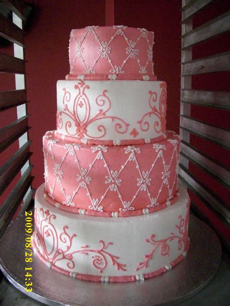 quinceanera themes ideas coral coral cake my designs pinterest coral cake and cake
