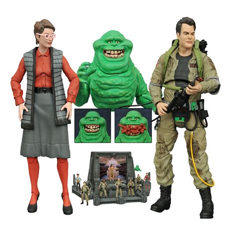 ghostbusters figures fall 2016 select toys ghostbusters trek