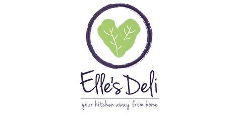 layout and logo ellies deli logo design logomoose logo inspiration