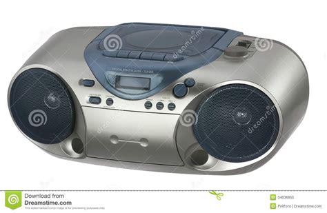 modern metallic colored radio royalty free stock photo image 34036855