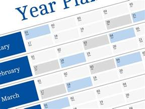Calendar 2018 Wall Planner Free Yearly Planner Adenda For 2018 Year Big Wall