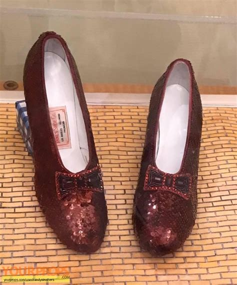 ruby slippers smithsonian the wizard of oz wb licensed keepthemruby smithsonian