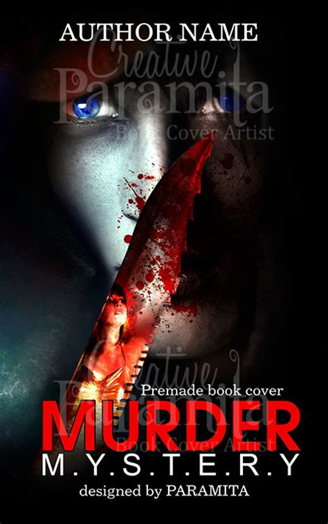 the plot is murder mystery bookshop books murder mystery premade book cover